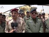 28.06.16 - вертолёты ВВС Ирака уничтожили огромную колонну транспортных средств боевиков Даиш, пытавшихся бежать из Фаллуджи в п