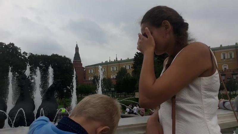 Александровский сад Фонтан Времена года