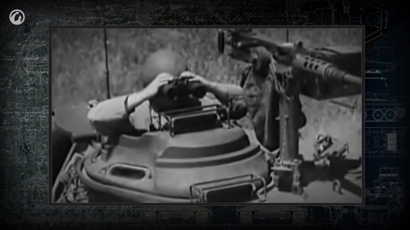 9.Главное о танках. Чем занят экипаж внутри танка.