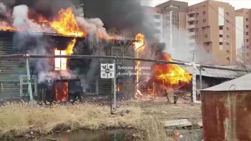 13 мая пожар на Каландаришвили 2