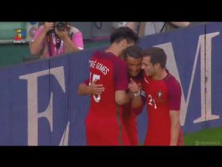 Первый гол Роналду в ворота Эстонии