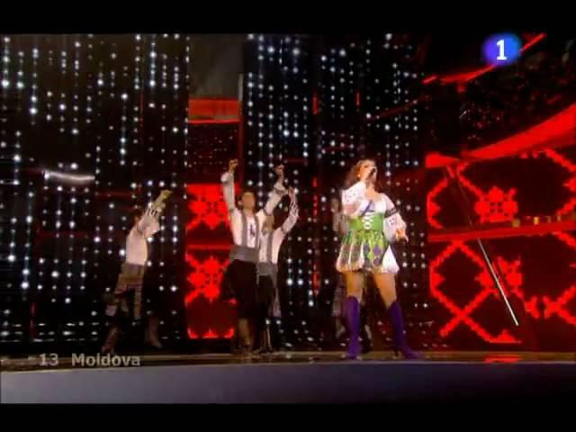 Nelly Ciobanu - Hora din Moldova (În Direct la finala Eurovision 2009 Moscova)