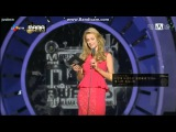 131122 MAMA- #5 EXO SEHUN reaction to Paris Hilton