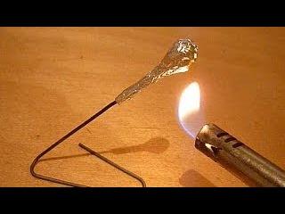 Как сделать ракету из спичек (How to make a rocket from matches)