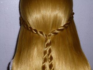Простая причёска за 5 минут, на каждый день для средних/длинных волос.Плетение косички жгут