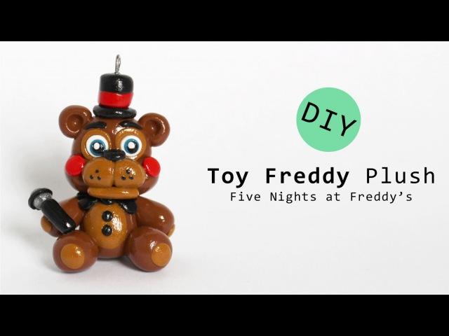 Five Nights at Freddy's 2 Toy Freddy Plush Polymer Clay Tutorial