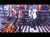 Reggie 'N' Bollie take on One Direction and OMI Live Week 2 The X Factor 2015