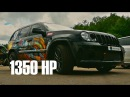 UNLIM 500 15-15: Jeep Grand Cherokee SRT-8 7.2L Custom Twin Turbo (NOS) 1350 hp