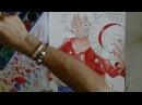 How to draw Rufy(Luffy) -One Piece-