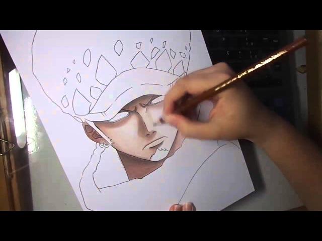Speed Drawing - Trafalgar Law (One Piece)