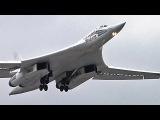 Воздушные съемки полета Ту-22М3, Ту-95МС, Ту-160, Ил-78