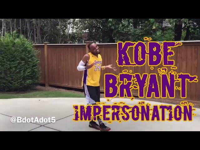 'Brandon Armstrong' Kobe Bryant Impersonation -- Follow @BdotAdot5