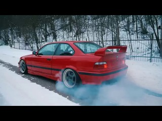 BMW e36 M3 Rear Diffuser & Burnout