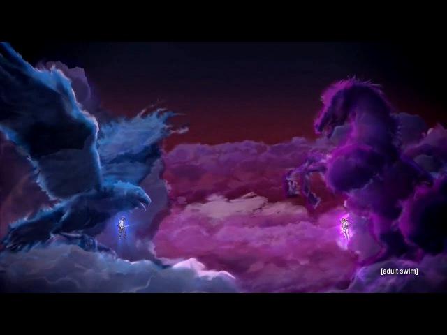Metalocalypse The Doomstar Requiem - The Duel - Skwisgaar and Toki