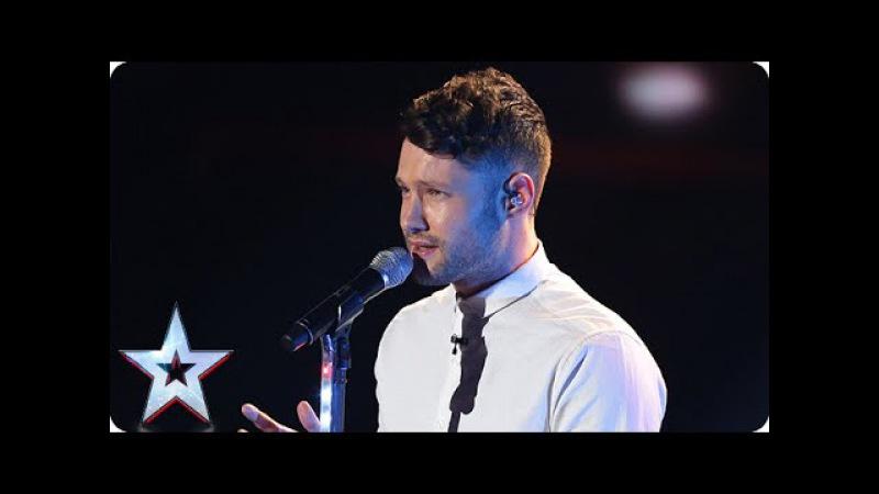 Could it be Calum Scott's time to sparkle? |Grand Final | Britain's Got Talent 2015