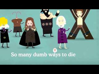 Dumb Ways to Die Game of Thrones Edition