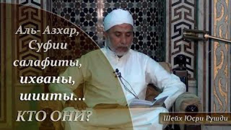 Салафиты ихваны суфии шииты Аль Азхар кто они Шейх Юсри Рушди HaMim Media