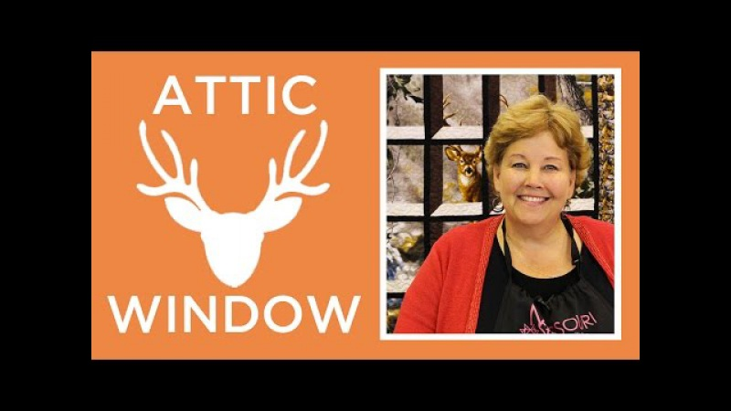 Attic Windows Quilt with a Panel Easy Quilting Tutorial with Jenny Doan of Missouri Star Quilt Co