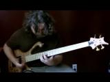 Amazing bass guitar solo by Aram Bedrosian!