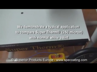 Super Therm - Thermal barrier ceramic coating