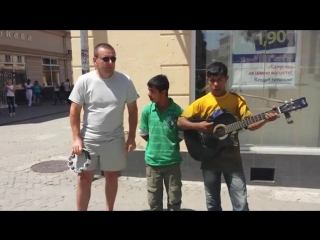 Цыганские мальчики перепели песню Стаса Михайлова Всё для тебя
