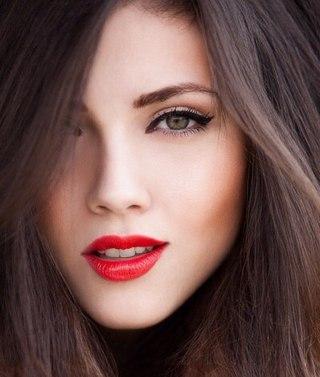 Дневной макияж лица для сухой кожи