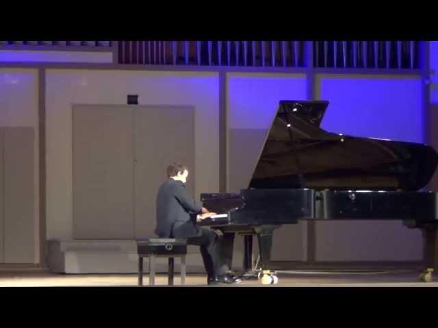 Ф. Лист Венгерская рапсодия №13, Ноктюрн №3, играет Родион Шемереко