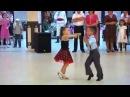 Мальчик и девочка танцуют Low