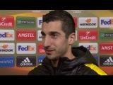 UEL - Borussia Dortmund 3-0 Tottenham Hotspur - Henrik Mkhitaryan Post-Match Interview 10.03.2016