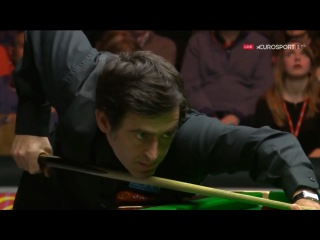 Ronnie O'Sullivan 136 v Barry Hawkins Final Masters 2016