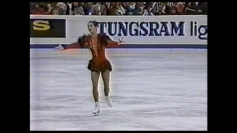 Katarina Witt (GDR) - 1988 Worlds, Ladies' Long Program