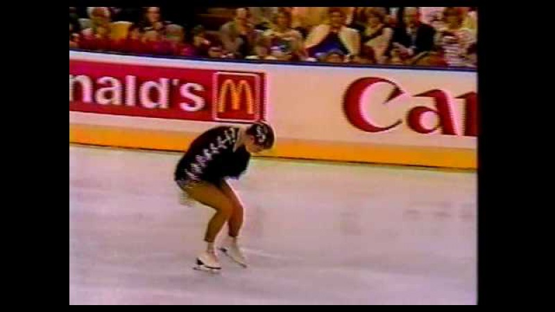 Katarina Witt GDR 1987 World Figure Skating Championships Ladies' Long Program
