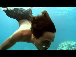 How Moken children see with amazing clarity underwater - Inside the Human Body - BBC One