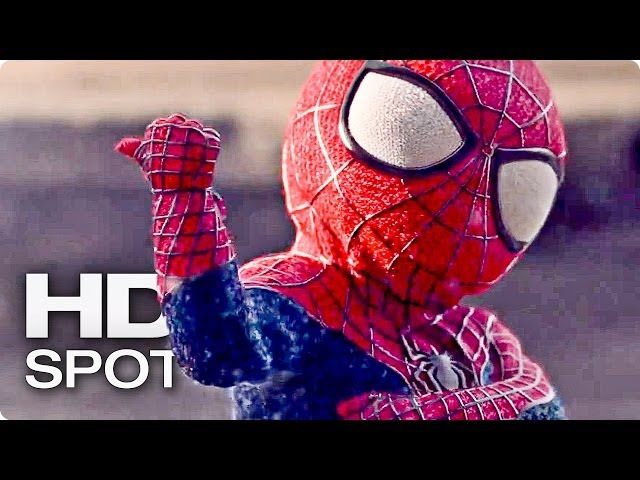 THE AMAZING SPIDER-MAN 3 Evian Baby me 2 | 2014 Official Spot [HD]