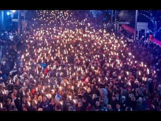 Torchlight Procession in Russia / Факельное шествие в Керчи / Как это было