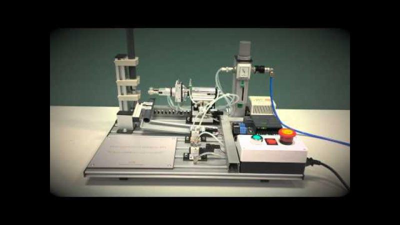 Мехатронный модуль/Мехатроника. Ориентация деталей. Дидактичсекие Системы.