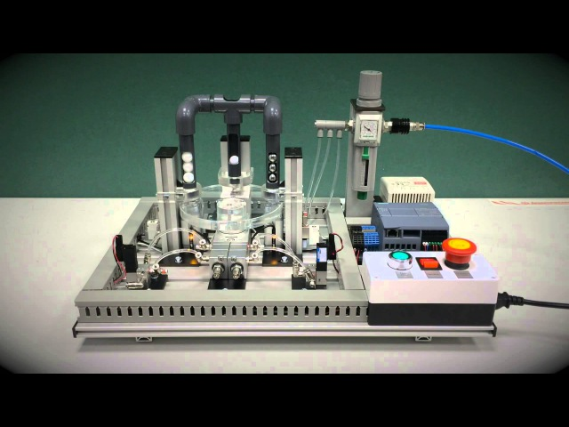 Мехатронный модуль/Мехатроника. Циклическая сортировка. Дидактические Системы