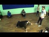 B-girl Cherry vs b-girl MP (1-й батл по брэйку и хип-хопу КлоДэ)