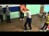 Дима vs Настя (1-й батл по брэйку и хип-хопу КлоДэ)