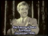 Rac Kapur Bakida Радж Капур в Баку Raj Kapoor in Baku Azerbaijan