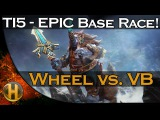 Dota 2 TI5 - Wheel vs. Void Boys - EPIC Base Race -
