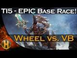 Dota 2 TI5 - Wheel vs. Void Boys - EPIC Base Race -