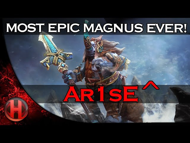 MOST EPIC MAGNUS EVER - Ar1sE^ BEST Highlights Movie