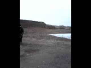 взрываем гранату РГН