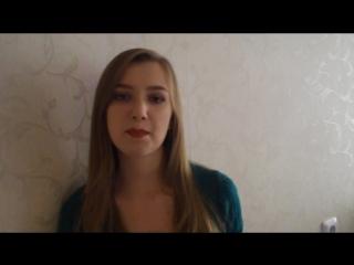 Serebro (Серебро) - song #1 (cover кавер от Oksana Lazukina )