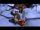 Маша и Медведь (Masha and The Bear) - Раз, два, три! Ёлочка, гори! (3 Серия) (online-video-cutter)