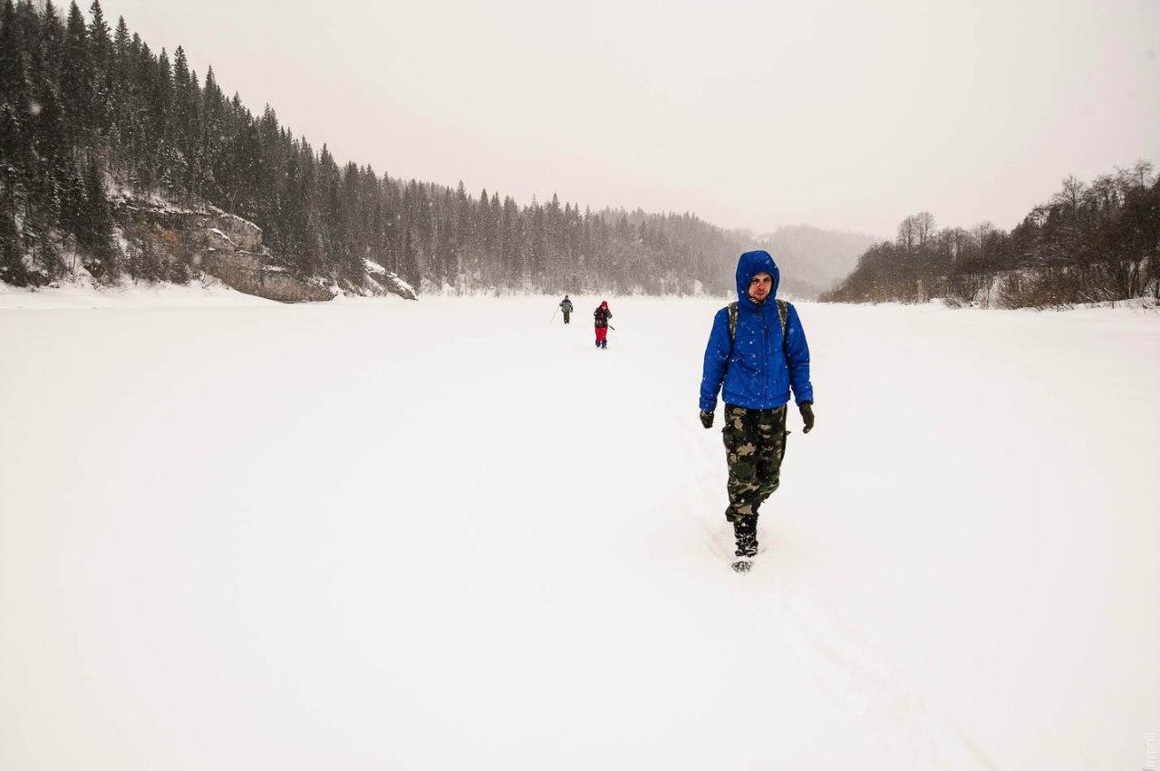 По реке Чусовой