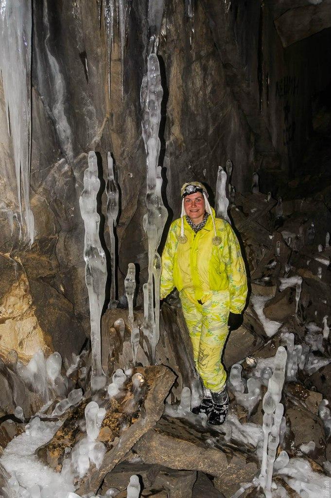 Глухая Ледяная пещера