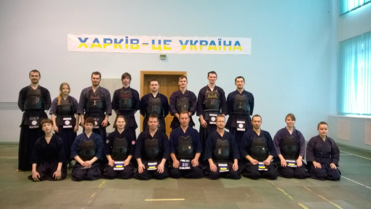 5 winter kendo camp Kharkiv