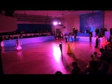 Европейская программа - 4 танца. Юниоры 1.